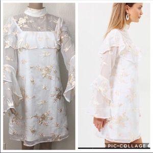 🎉HP🎉 🌻 🆕 ELLIATT Composition Dress Sz L